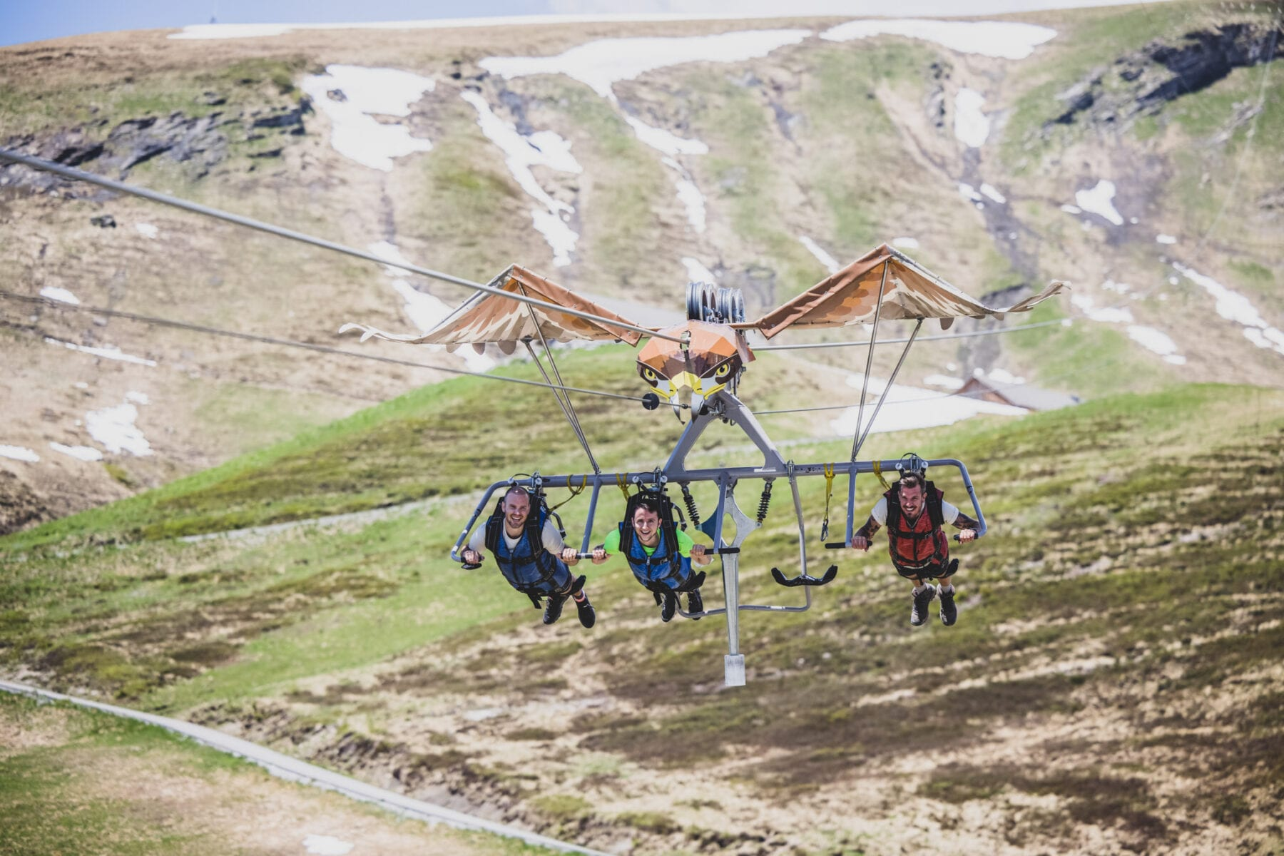 Jungfrau Grindelwald First Flyer Glider