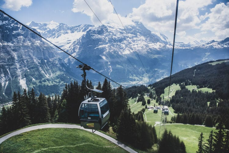 Jungfrau Grindelwald First Gondel