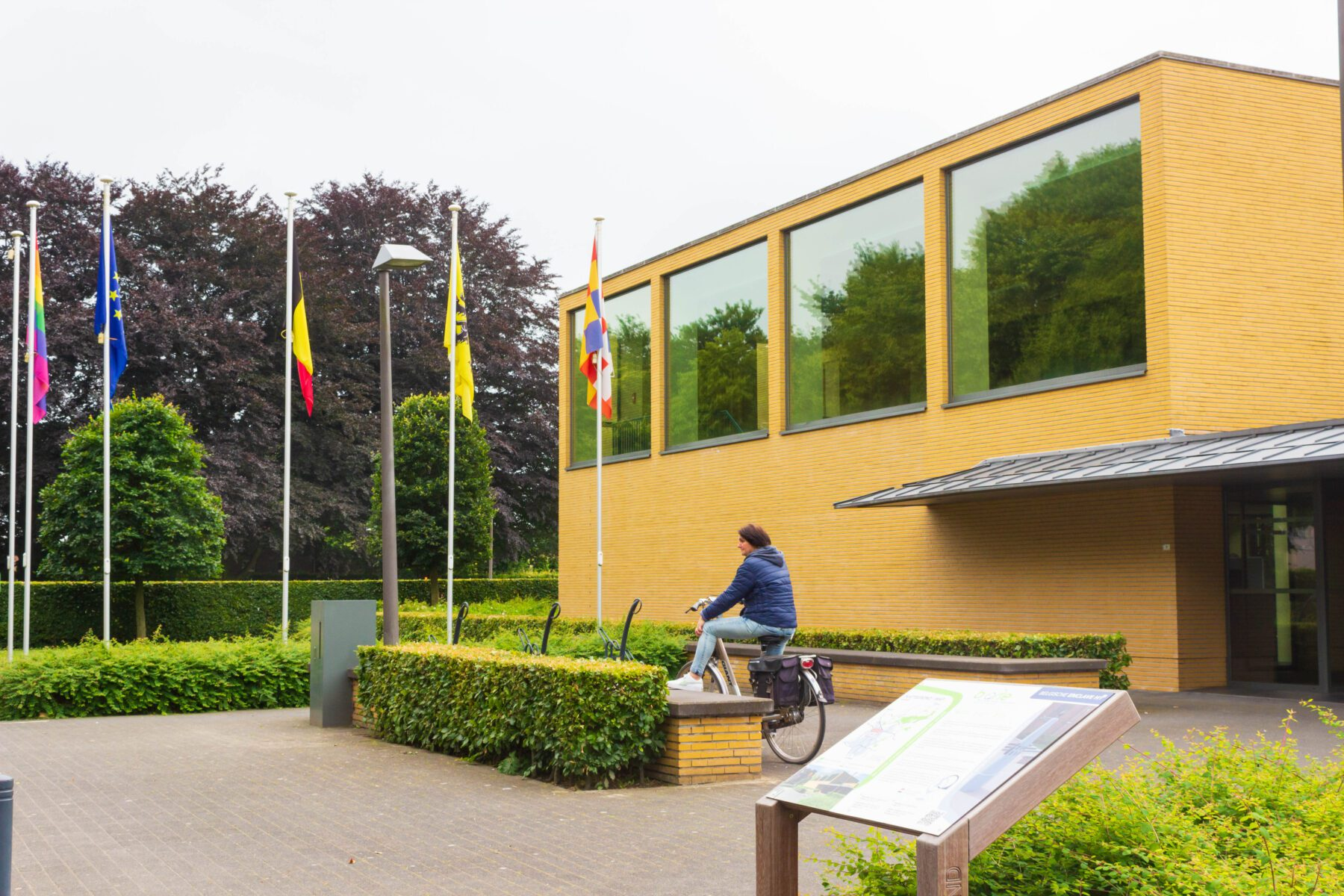 Belgische gemeentehuis