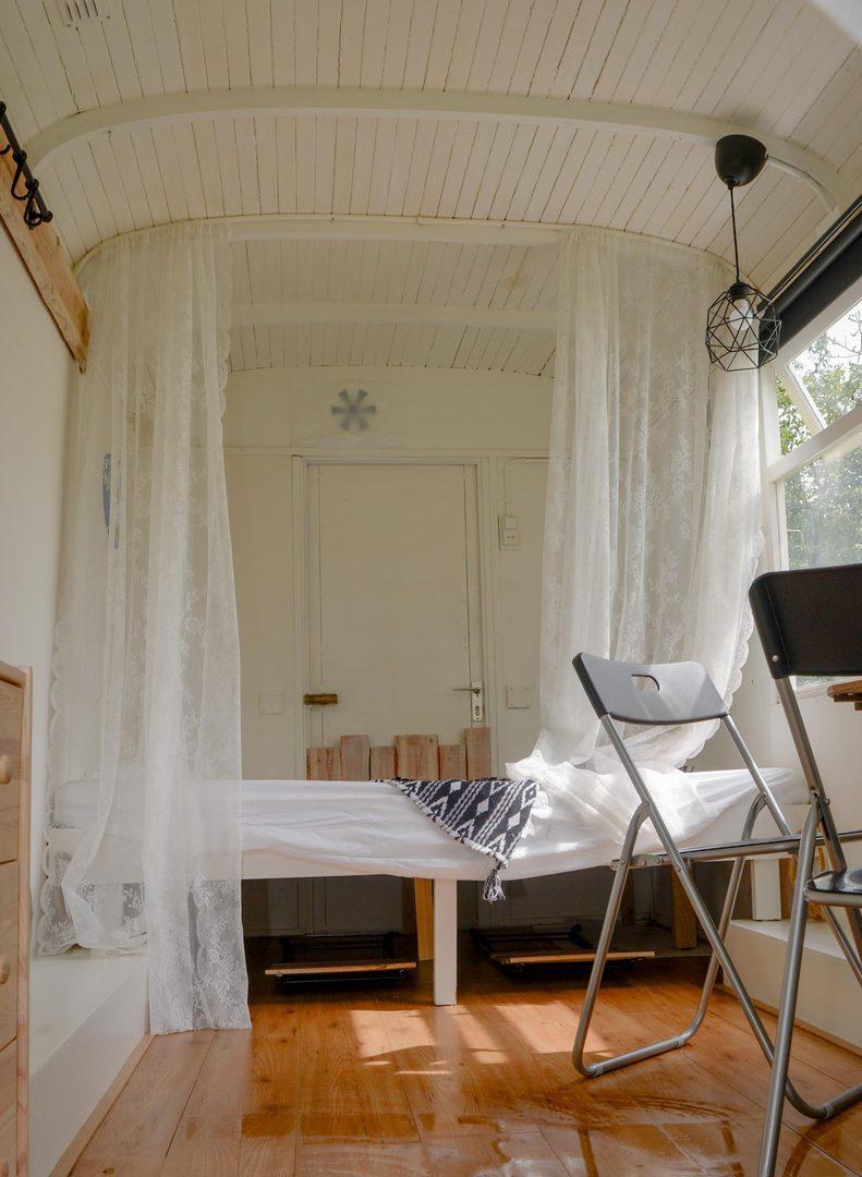 Campspace accommodatie overnachten pipowagen