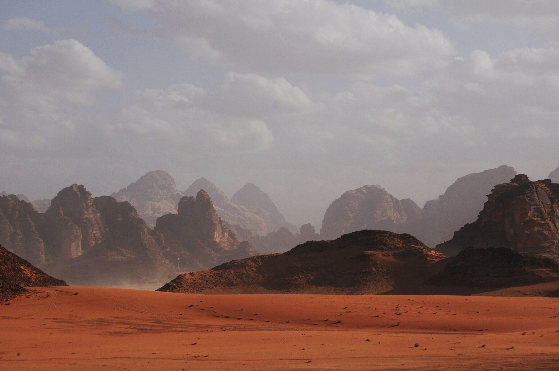 Jordanië woestijn