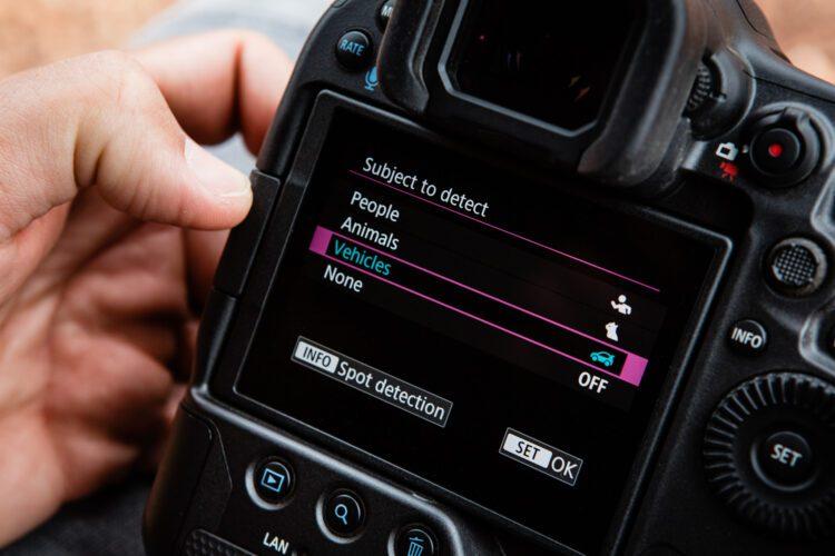Canon EOS R3 autofocus