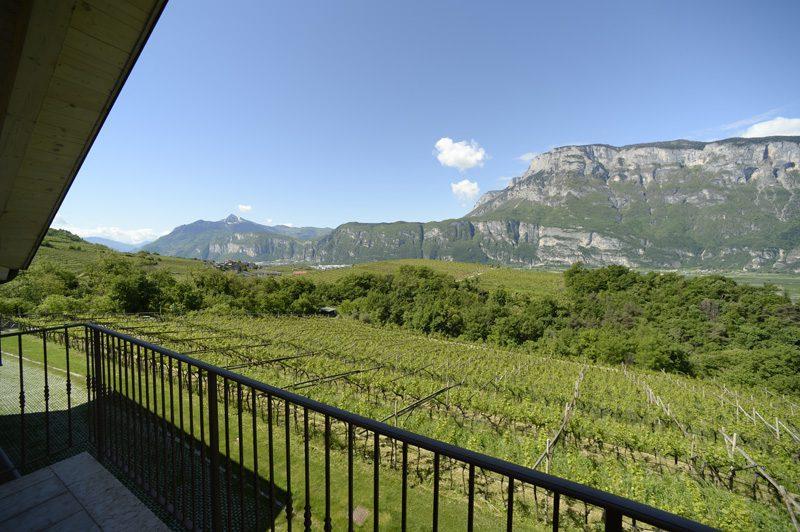 wijnhuis Italië uitzicht