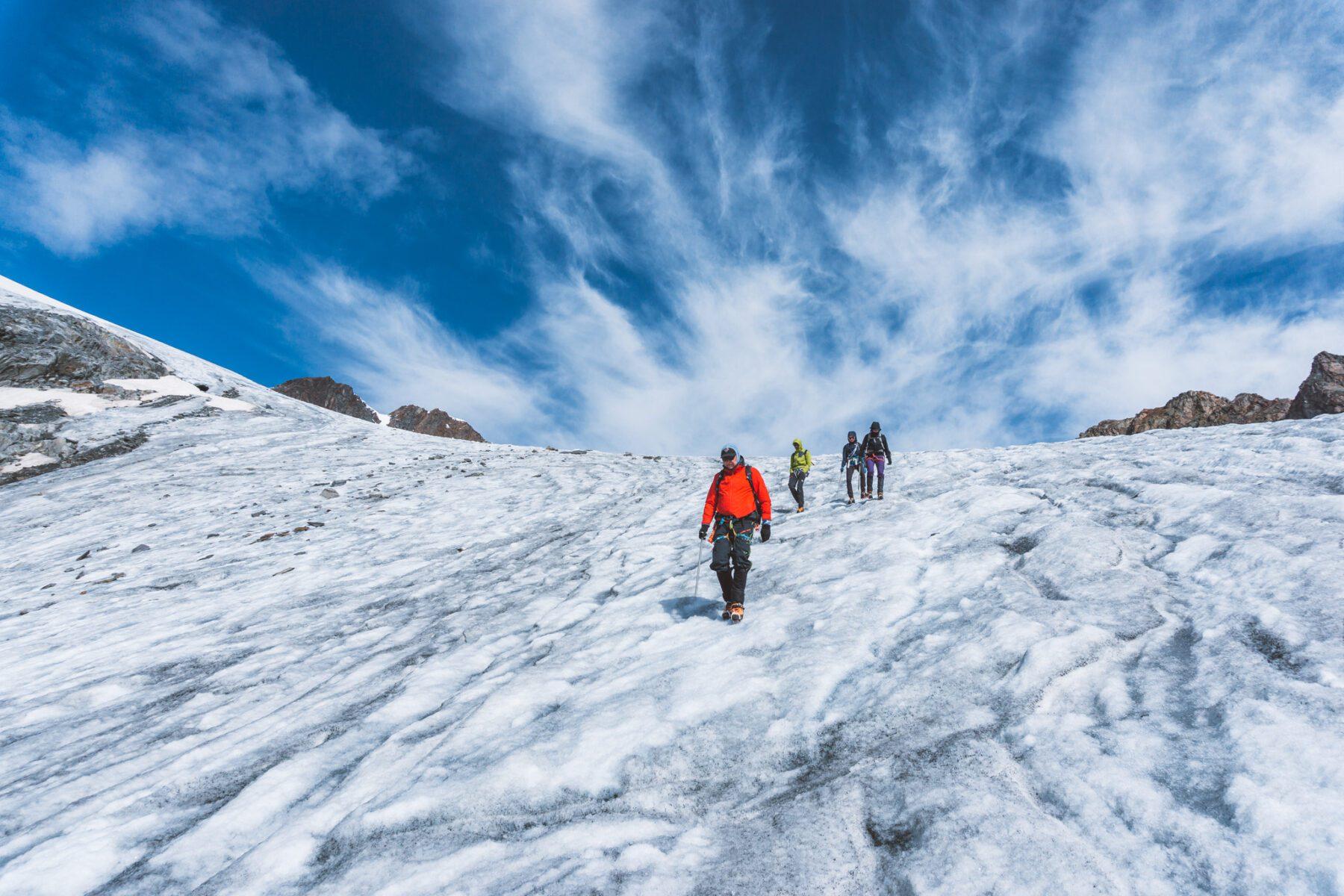 NKBV C1 cursus gletsjertocht