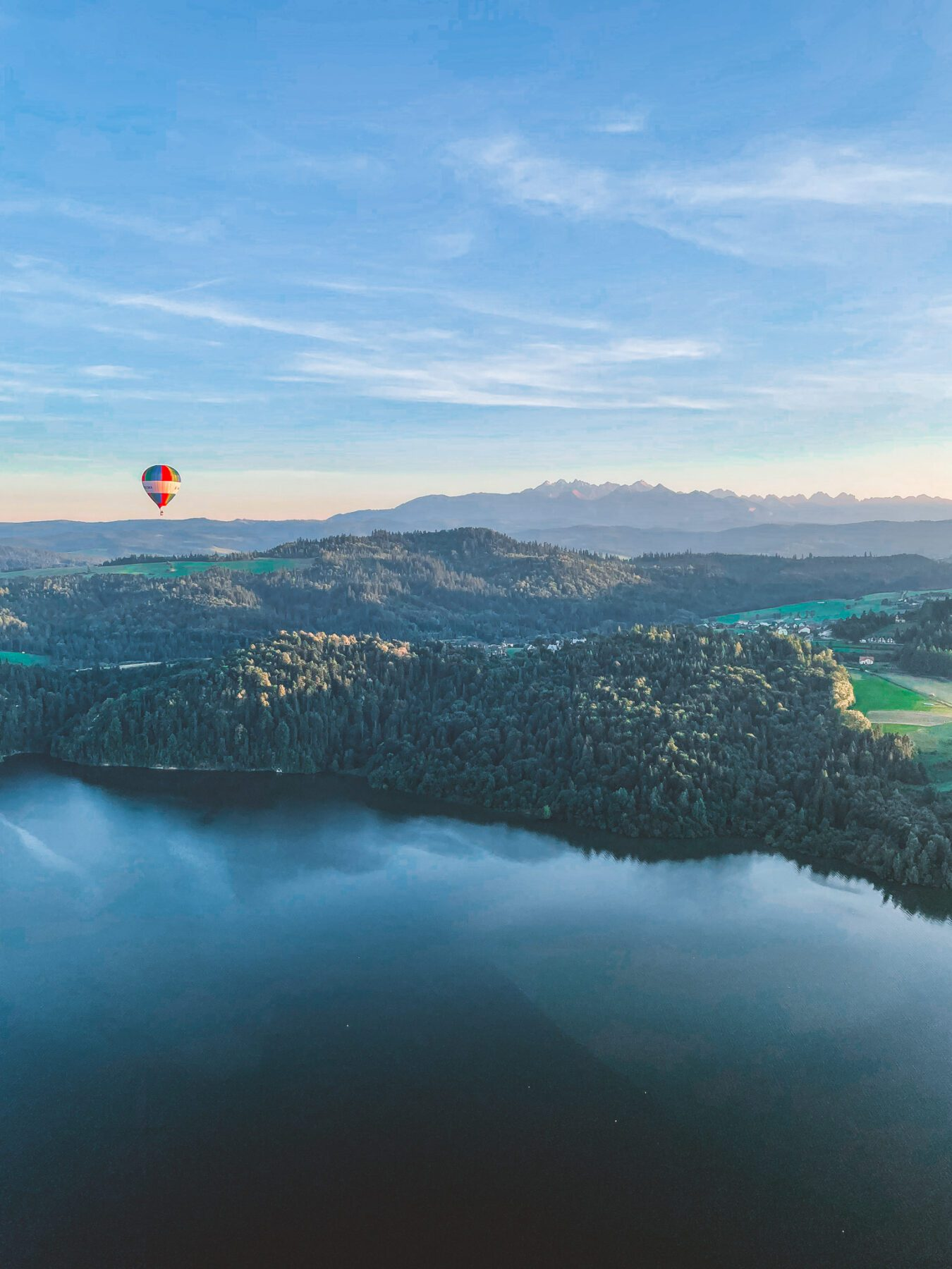 VeloMalopolska luchtballon in Polen