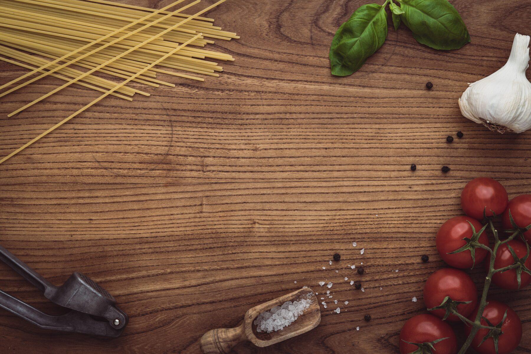 ingrediënten vegan pasta pesto