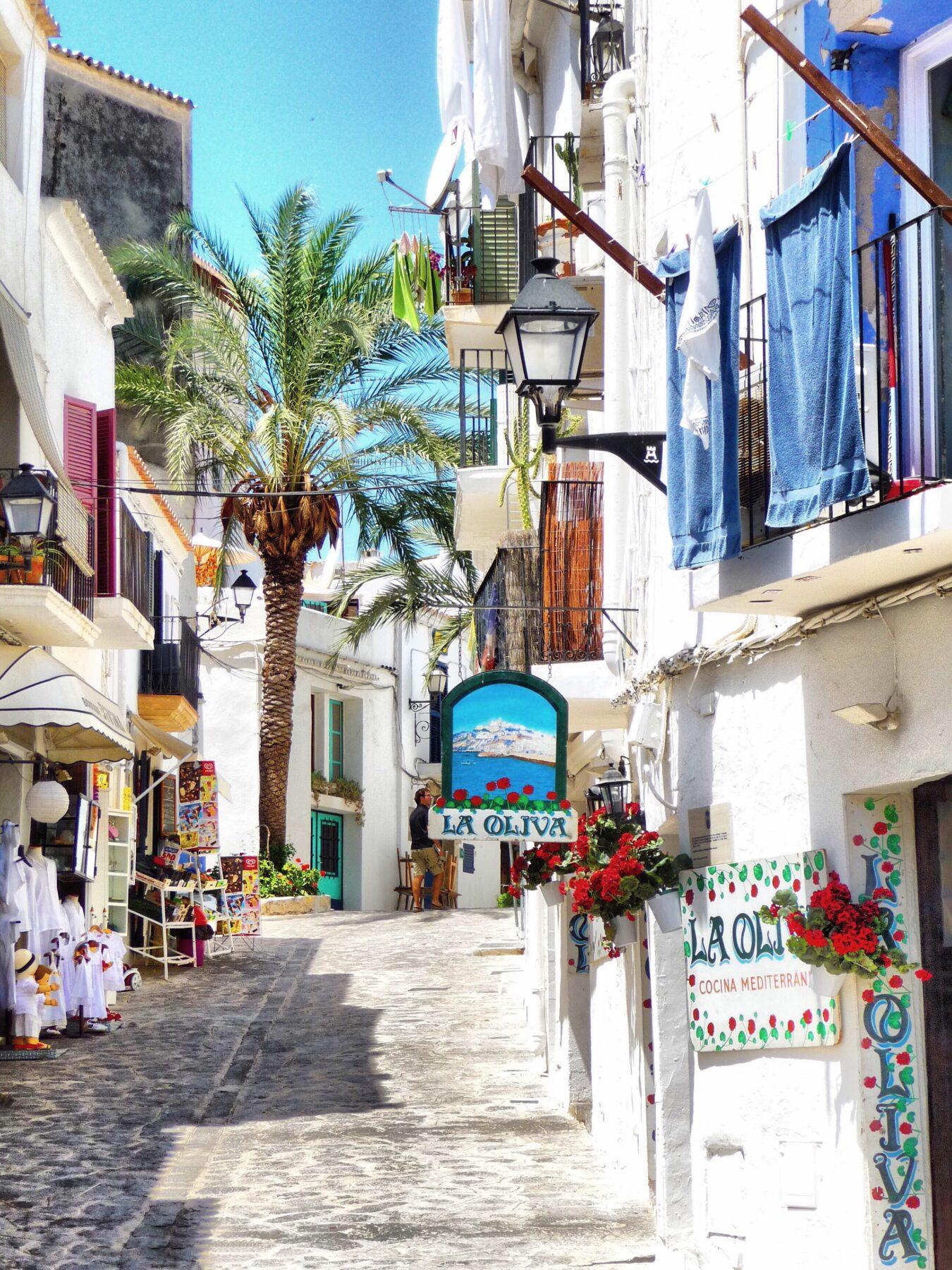 Mooiste eilanden Europa, Ibiza straatje