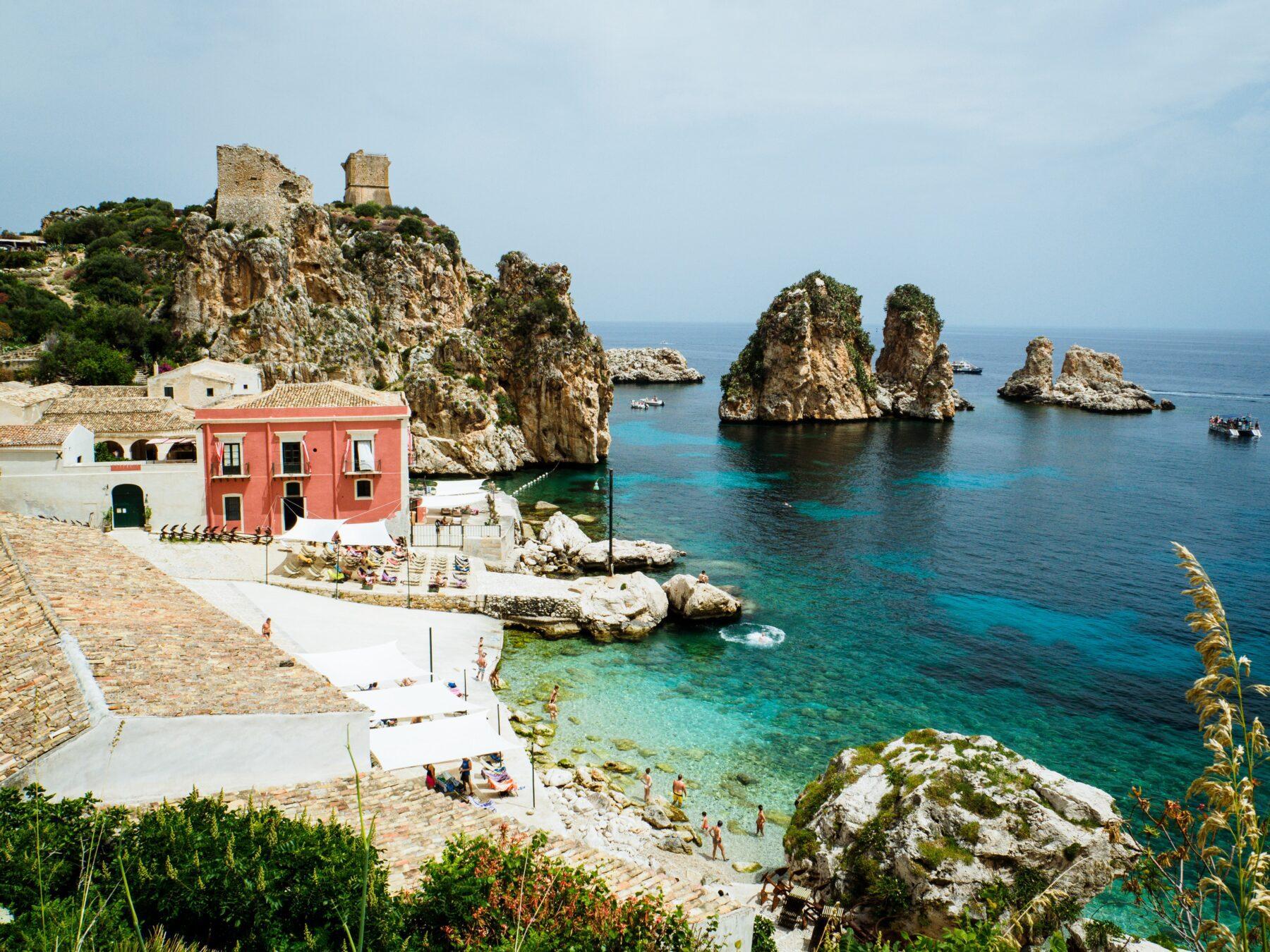Sicilië strand, mooiste eilanden Europa