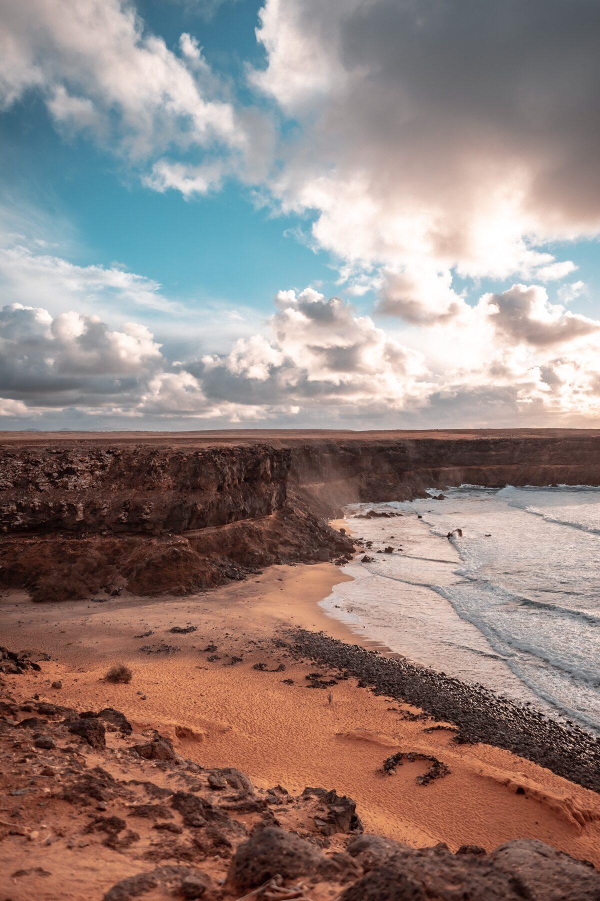 Fuerteventura uitzicht zee, mooiste eilanden Europa