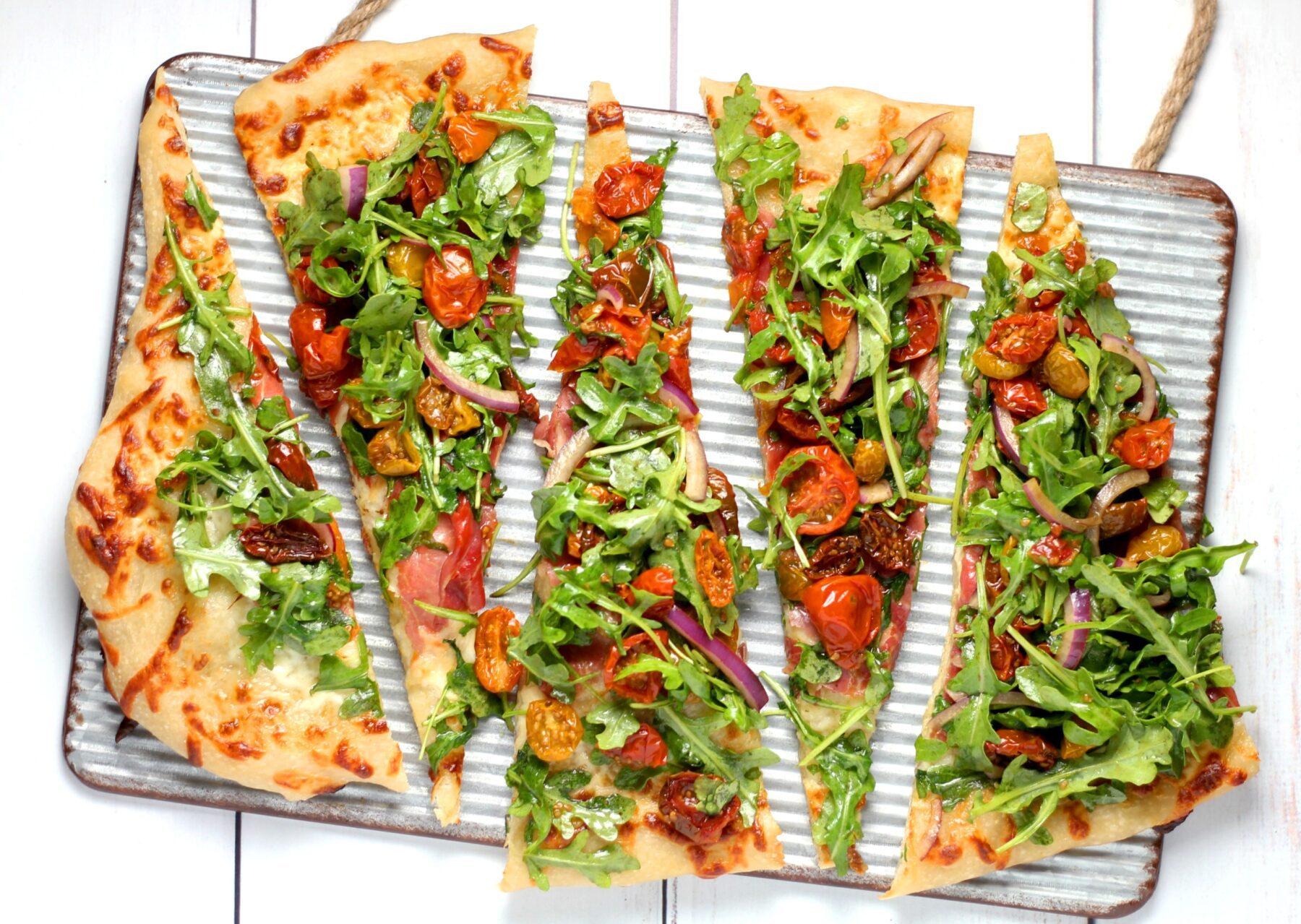 pizza stukken