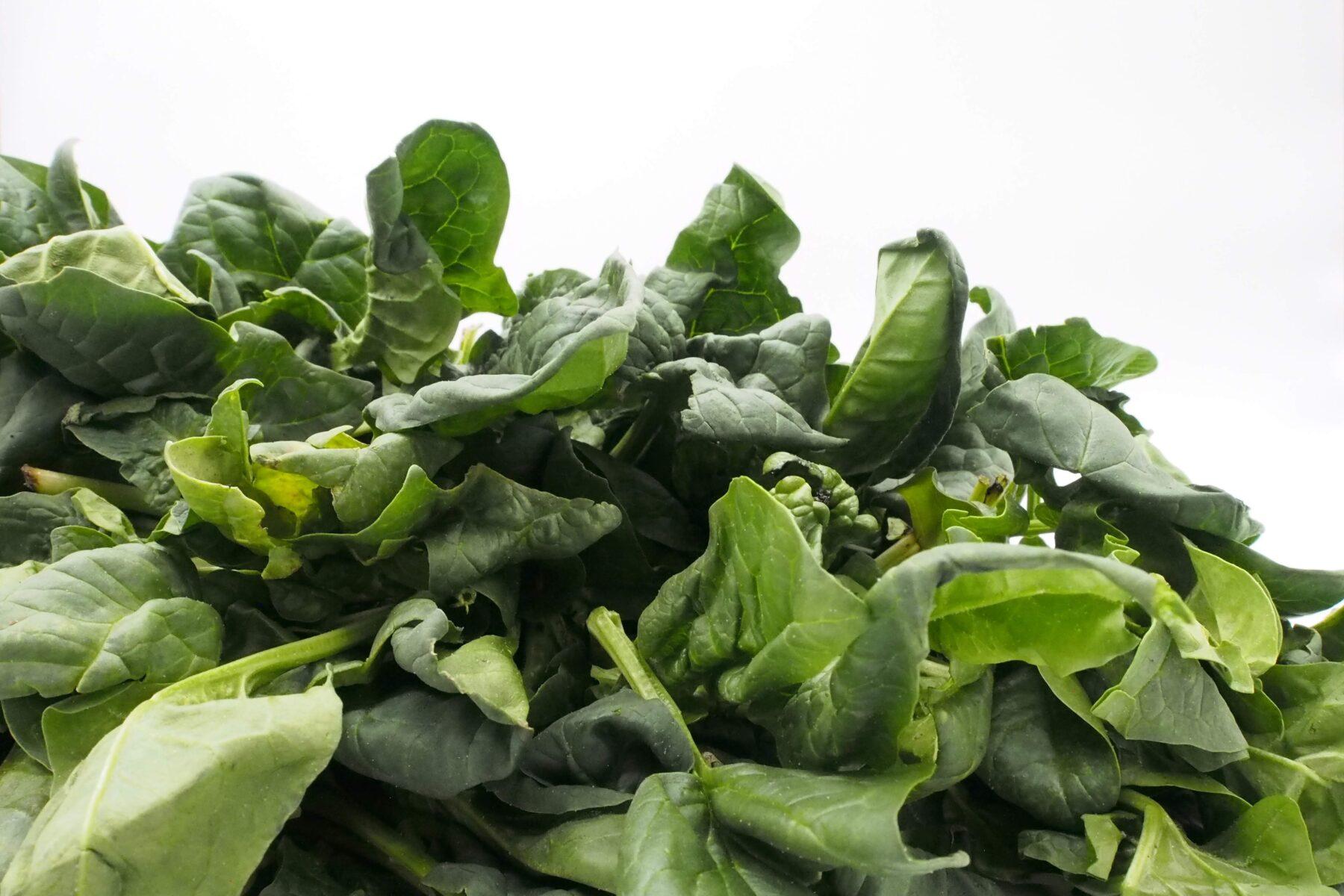 stress verminderen spinazie