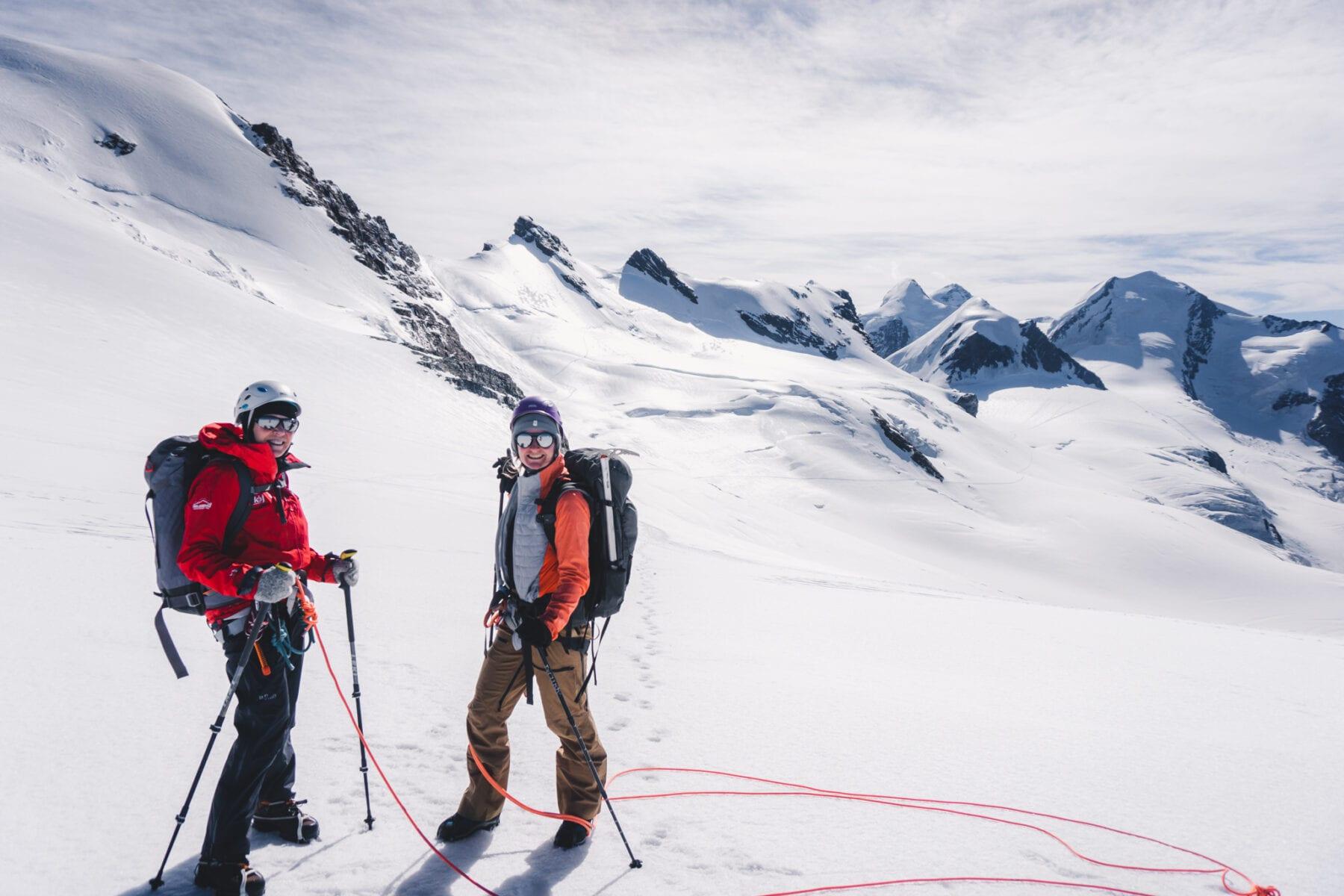 100% Women Peak Challenge-Breithornzwilling Ost-Zwitserland