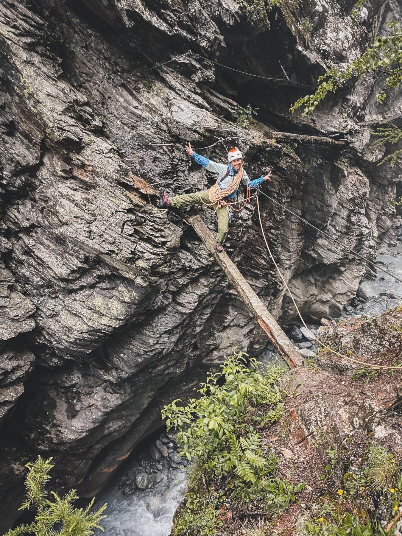 Gorge Alpine Saas Fee Via Ferrata