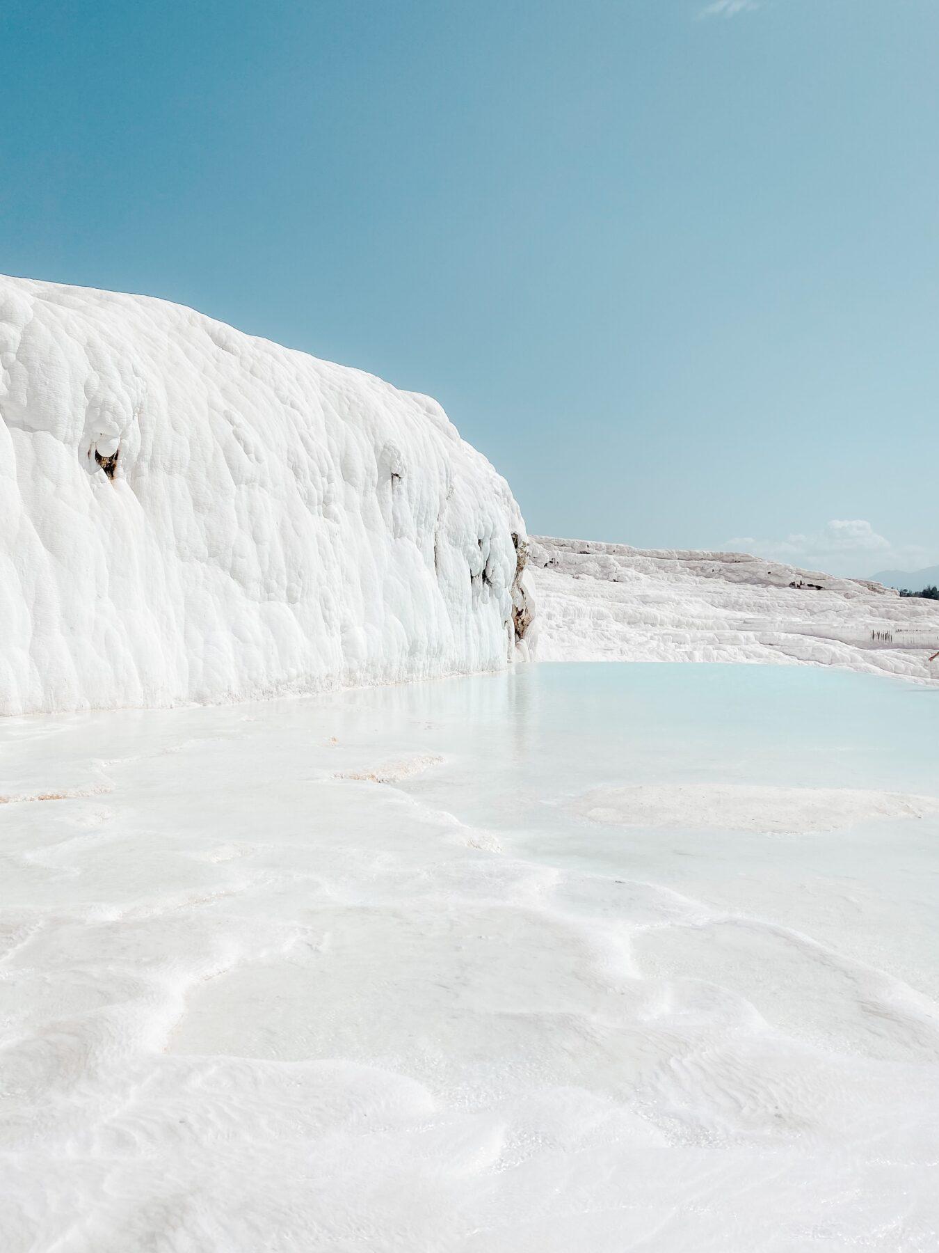 Water en kalkrotsen Pamukkale
